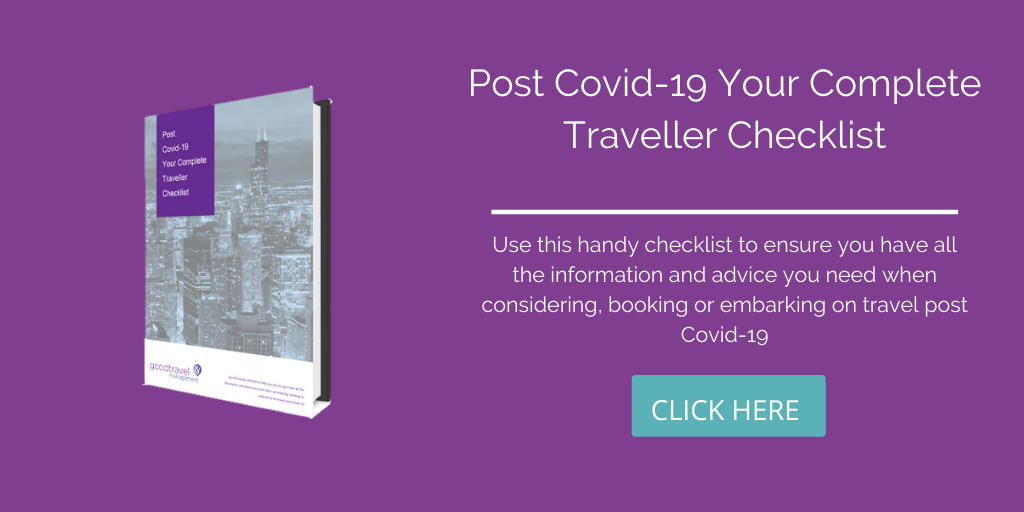 Traveller Checklist Business Travel Post Covid 19