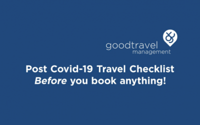 Infographic: Post Covid-19 Travel Checklist – Before you Book anything!