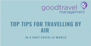 Infographic: Post Covid-19 Travel Checklist - Top Tips for travelling by Air
