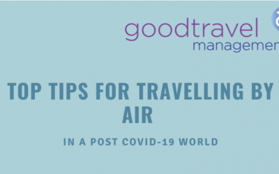 Infographic: Post Covid-19 Travel Checklist – Top Tips for travelling by Air
