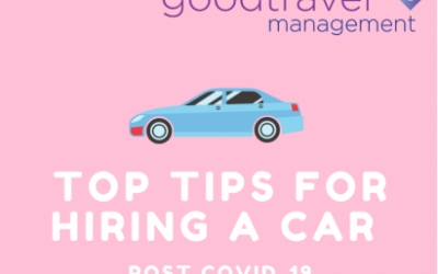 Infographic: Post Covid-19 Top Tips for Hiring a Car