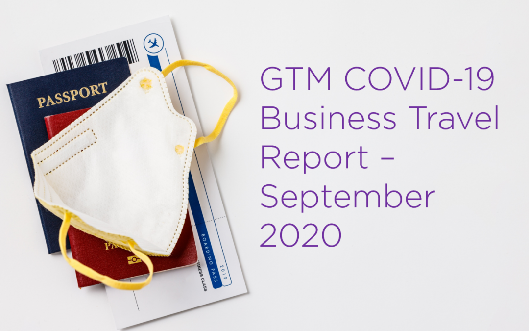 Good Travel Management COVID-19 Business Travel Report – September 2020